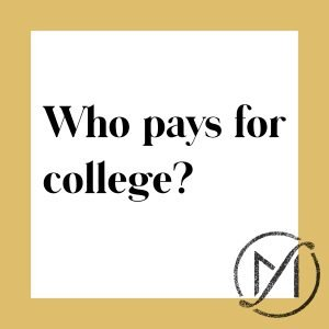 who pays for college after a Connecticut divorce