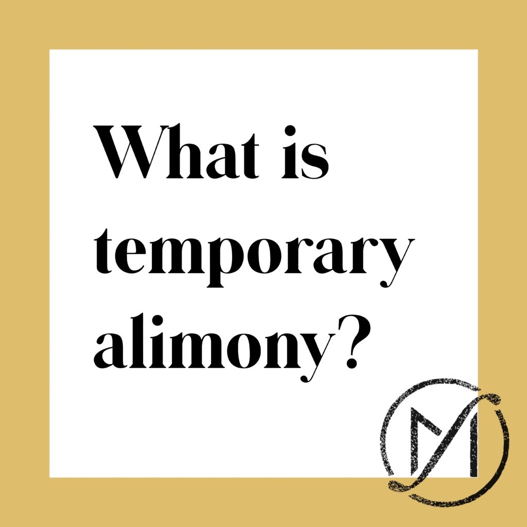What Is Temporary Alimony in Connecticut? | Call 860-530-4251